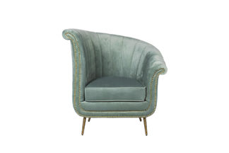48MY-2682-R MNT Armchair velour mint (right) ...