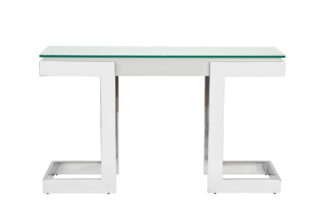 58DB-CST18166WH Console with glass 130*37*76,...