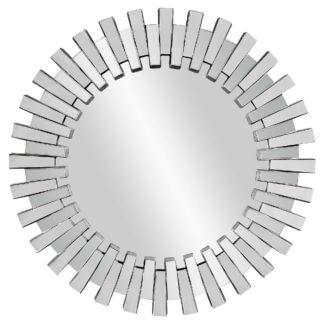 """LHVM33 Round mirror in the frame """"Doria..."""
