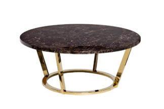 33FS-CT20C05-PG Coffee table brown (artificia...