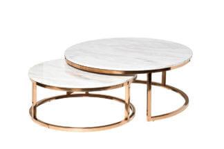 57EL-CT101А Set of 2 coffee tables (artificia...