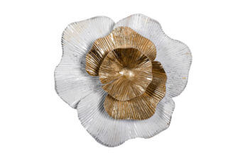 "37SM-0661 Wall decor ""Flower"" whi..."