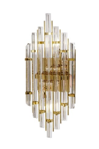 62GDM-925 Glass wall lamp (gold) 24*55 cm