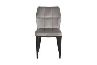 GY-DC8169BL-GR Chair gray velour 48*58*84 cm