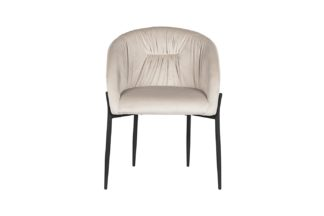 GY-DC8173BL-CR Chair velour light beige 53*62...