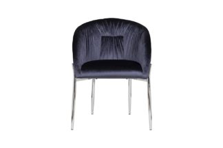 GY-DC8173-DB Chair velour dark blue 53*62*83 ...