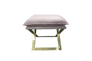 N-OT-188 PI Pink bench on a metal base 45*45*...