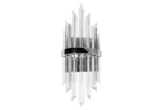 62GDM-903CH Glass wall lamp (chrome) 22*50 cm
