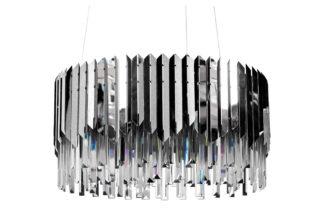 62GDW-8901-600CH Glass chandelier (chrome) d6...