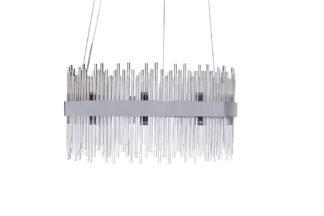 62GDW-901-600CH Glass chandelier (chrome) d60...