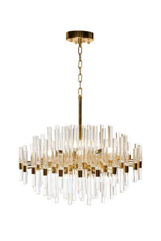 62GDM-810021-800 Glass chandelier (gold) d80*...