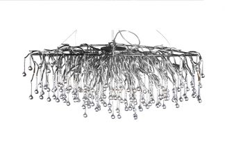 "86-8015/1200S Pendant chandelier ""Drops..."