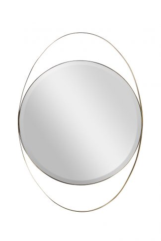 KFG098 Mirror in a metal frame (gold) 70*99 c...
