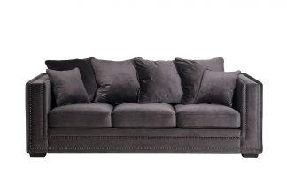 Sofa Opera triple folding brown