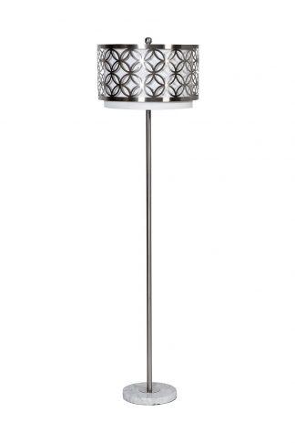 22-88761 Floor lamp with openwork shade d35*1...