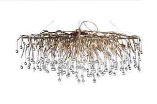 "86-8015/1200G Pendant chandelier ""Drops"" (cha..."