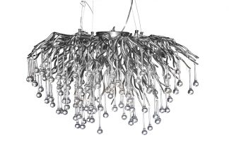 "86-8015/800S Pendant chandelier ""Drops&..."