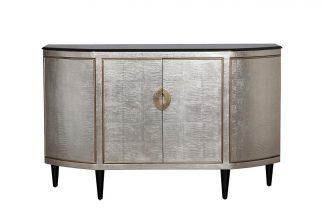 ART-N2911-S Chest of drawers silver with gran...