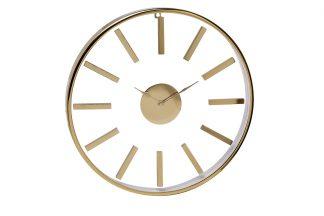 79MAL-5710-76 Round gold wall clock 76*76 cm