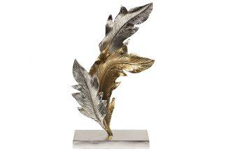 "71PN-1836 Figurine ""Leaves"" metal..."