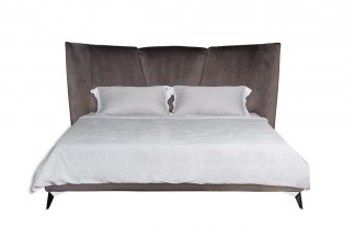 Siena bed velor beige 160*200 cm